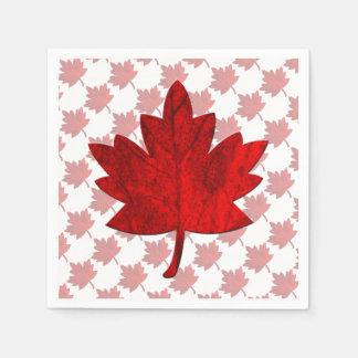Canada-Maple Leaf Napkin