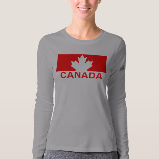 Canada Maple Leaf New Balance LS T-shirt