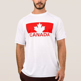 Canada Maple Leaf New Balance SS T-Shirt