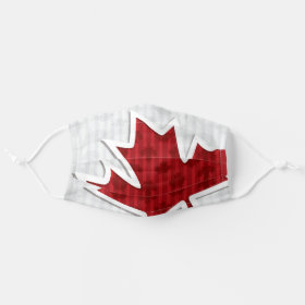 Canada Maple Leaf Patriotic Cloth Face Mask
