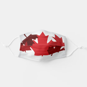 Canada Maple Leaf Pattern Cloth Face Mask