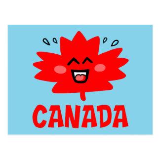 Canada Maple Leaf Postcard