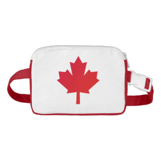 Canada Maple Leaf Red Fanny Pack