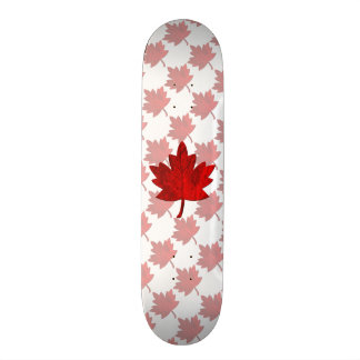 Canada-Maple Leaf Skate Deck