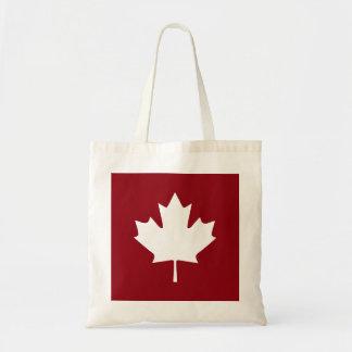Canada Maple Leaf Tote Bag