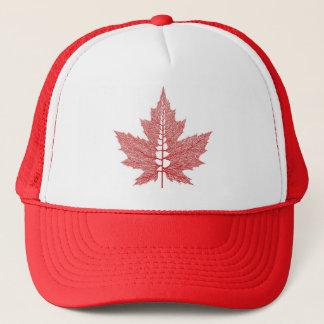 Canada Maple Leaf Veins hat
