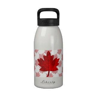 Canada-Maple Leaf Reusable Water Bottles