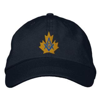 Canada Masonic Embroidered Cap