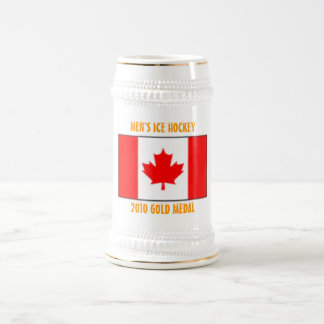 Canada Men's Ice Hockey - 2010 Gold Medal Beer Stein