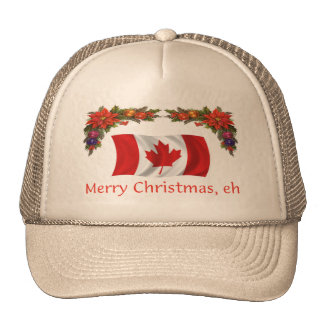 Canada Merry Christmas, eh Trucker Hat