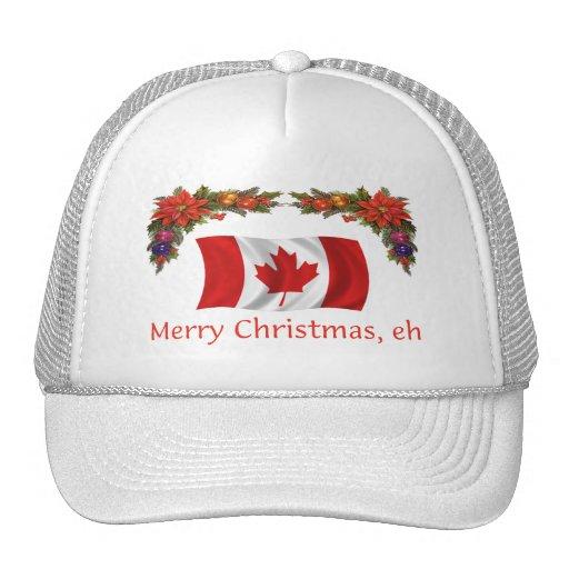 Canada Merry Christmas, eh Trucker Hat