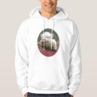 Canada mini pig Basic Hooded Sweatshirt