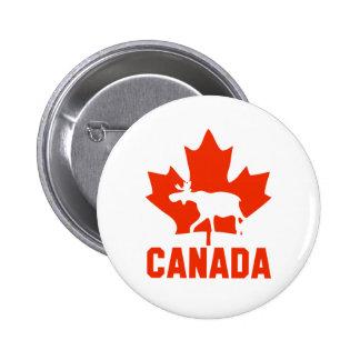 Canada Moose Button