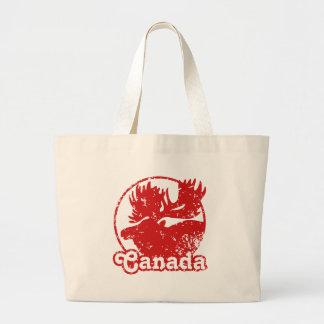 Canada Moose Canvas Bag