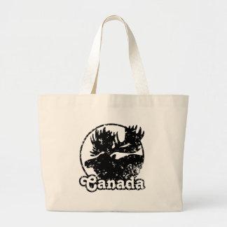 Canada Moose Canvas Bags