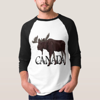 Canada Moose Jersey Retro Canadian Moose Souvenir T-Shirt