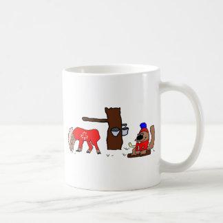 Canada Moose Syrup Beaver Coffee Mug