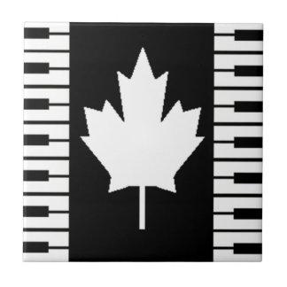 Canada Music Notes Ceramic Tiles