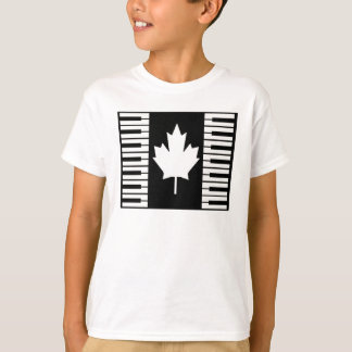 Canada Music T-Shirt Boys