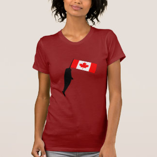 Canadá Narwhal Camisetas