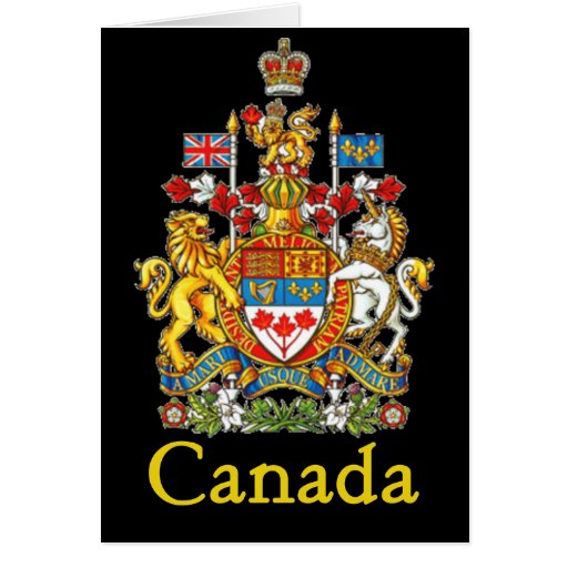 Canada National Seal Greeting Cards Zazzle