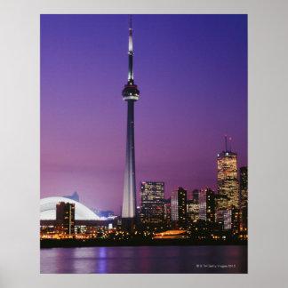 Canada National Tower, Toronto, Canada Poster