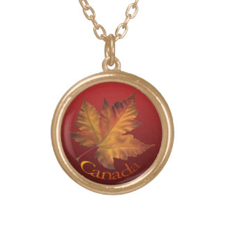 Canada Necklace Canada Maple Leaf Souvenir