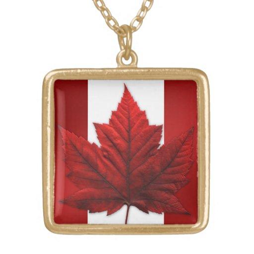 Canada Necklace Canada Souvenir Maple Leaf