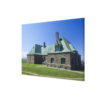 Canada, New Brunswick, Aulac. Fort Cumberland 2 Gallery Wrap Canvas