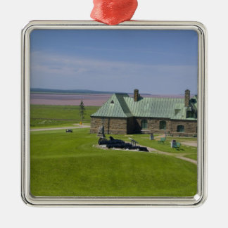 Canada, New Brunswick, Aulac. Fort Cumberland Metal Ornament