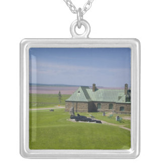 Canada, New Brunswick, Aulac. Fort Cumberland Square Pendant Necklace