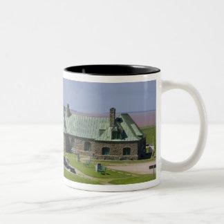 Canada, New Brunswick, Aulac. Fort Cumberland Two-Tone Coffee Mug