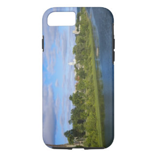 Canada, New Brunswick, Fredericton, City view iPhone 8/7 Case