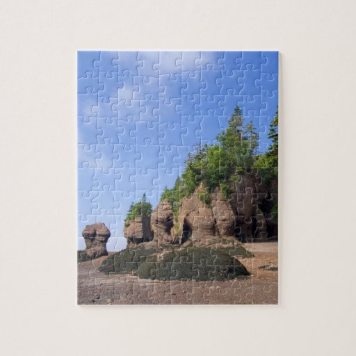 Canada, New Brunswick, Hopewell Cape, Bay of Puzzle