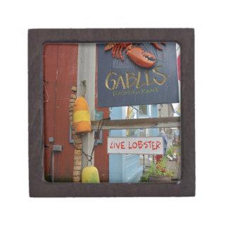 Canada, New Brunswick, St Andrews. Colorful Jewelry Box
