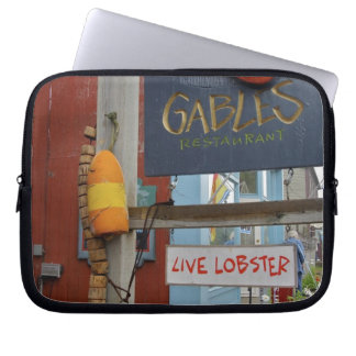 Canada, New Brunswick, St Andrews. Colorful Laptop Sleeve