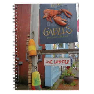 Canada, New Brunswick, St Andrews. Colorful Notebook