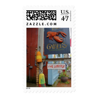 Canada, New Brunswick, St Andrews. Colorful Postage