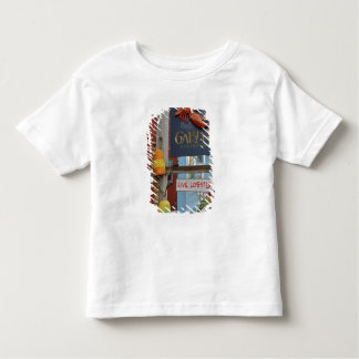 Canada, New Brunswick, St Andrews. Colorful Toddler T-shirt