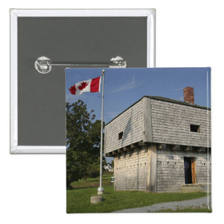Canada, New Brunswick, St Andrews. St. Andrews 2 2 Inch Square Button