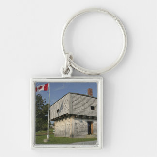 Canada, New Brunswick, St Andrews. St. Andrews 2 Silver-Colored Square Keychain