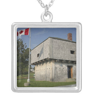 Canada, New Brunswick, St Andrews. St. Andrews 2 Square Pendant Necklace