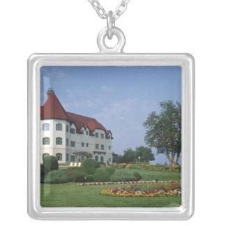 Canada, New Brunswick, St Andrews. The Fairmont Square Pendant Necklace
