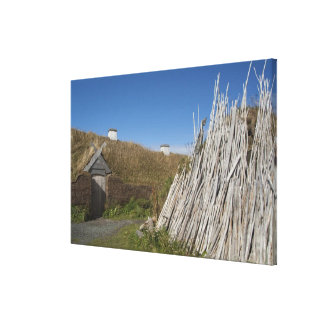 Canada, Newfoundland and Labrador, L'Anse Aux 2 Stretched Canvas Print