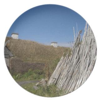 Canada, Newfoundland and Labrador, L'Anse Aux 2 Plates