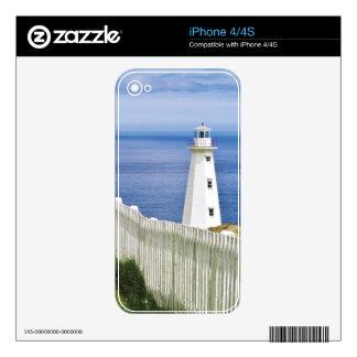 Canada, Newfoundland, Cape Spear National 2 iPhone 4 Skins