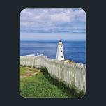 "Canada, Newfoundland, Cape Spear National 2 Magnet<br><div class=""desc"">COPYRIGHT Michael Glatt / DanitaDelimont.com | CN05 MGL0000.jpg | Canada,  Newfoundland,  Cape Spear National Historical Site,  Lighthouse.</div>"