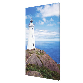 Canada, Newfoundland, Cape Spear National Canvas Print