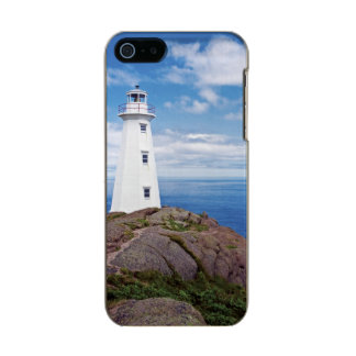 Canada, Newfoundland, Cape Spear National Metallic iPhone SE/5/5s Case