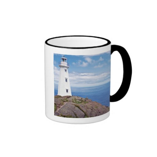 Canada, Newfoundland, Cape Spear National Ringer Coffee Mug